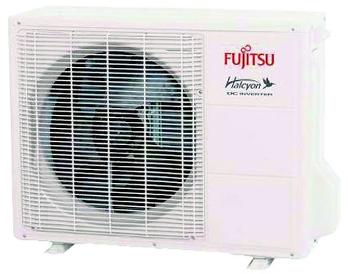26.0 SEER Floor Mounted Heat Pump, Outdoor Unit, 4+Auto Speed, 9,000 BTU/h Cooling, 12,000 BTU/h Heating, 208-230 Volts