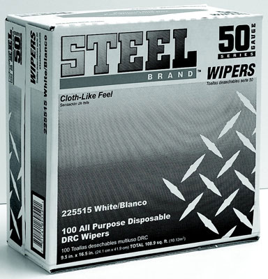 All Purpose Disposable Wipers, 100 Per Box