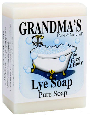 GRANDMA'S Lye Soap, 6.0 oz., Bar