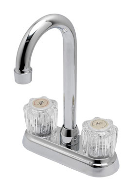 "4"" Acrylic Handle Bar Faucet"