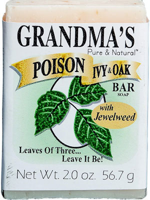 GRANDMA'S Poison Ivy & Oak Bar, 2.0 oz.