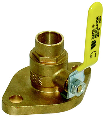 "1-1/2"" Isolation Pump Flange for Circulator Pump, 600 PSI, 1/4 NPT Threaded End Connection"