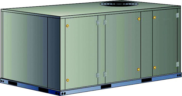 5 Ton 60 Hz, Packaged Heat Pump KH Rooftop Units