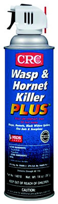 Wasp & Hornet Killer Plus Insecticide, Clear Liquid, Flammable, 14 Oz