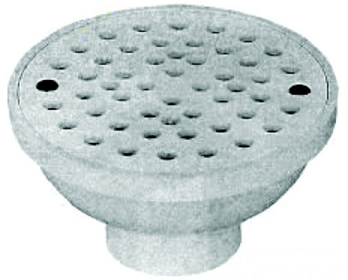 "2"" x 3"" threaded drain, 2"" FIP"