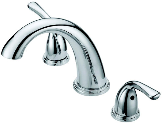 Roman Tub Filler Faucet Double Handle, Brushed Nickel