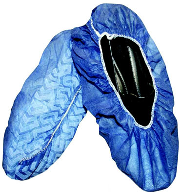 Polypropylene Disposable Non-Skid Shoe Covers