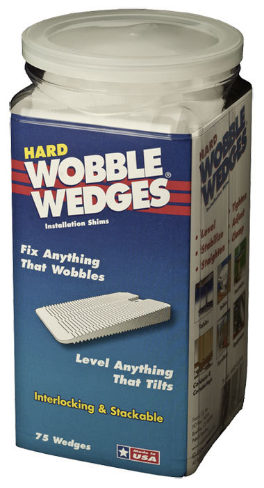 Wobble Wedges Hard Shim 75 pk