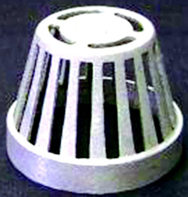 "Replacement Aluminum Beehive Strainer For 2"", 3"", and 4"" Floor Sinks"