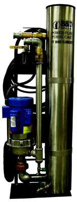 Geothermal Flush Cart 1.5 HP 60 GPM