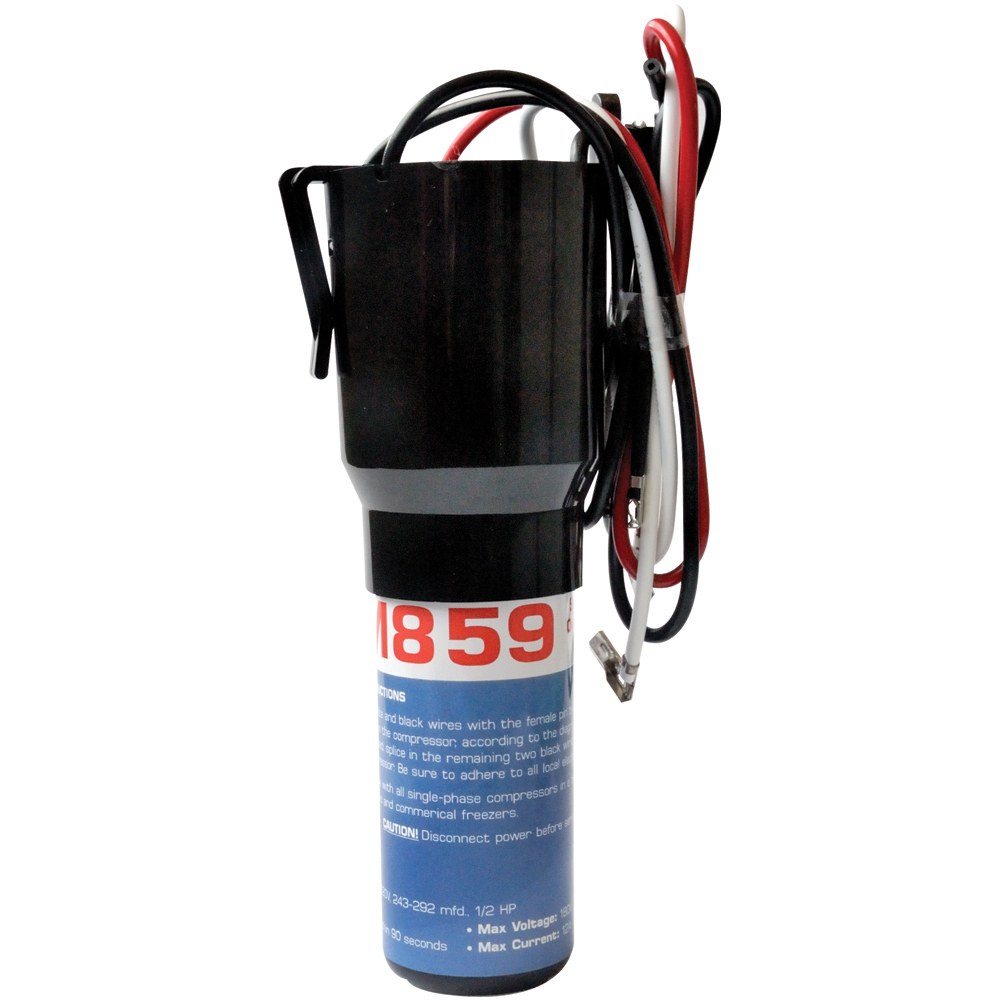 "3 ""N"" 1, Relay, Overload and Start Capacitor - 1/3 to 1/2 HP"