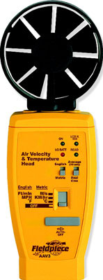 Air Velocity and Air Ttemperature Accessory Head