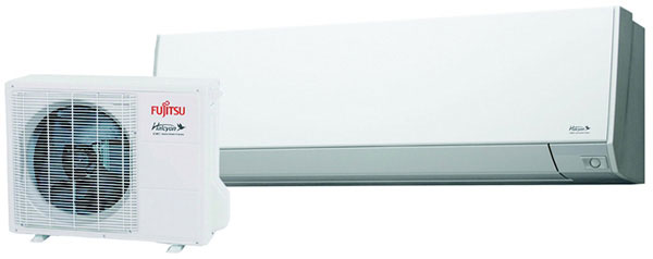 33.0 SEER Wall Mounted Heat Pump, Outdoor Unit, 4+Auto Speed, 9,000 BTU/h Cooling, 12,000 BTU/h Heating, 208-230 Volts