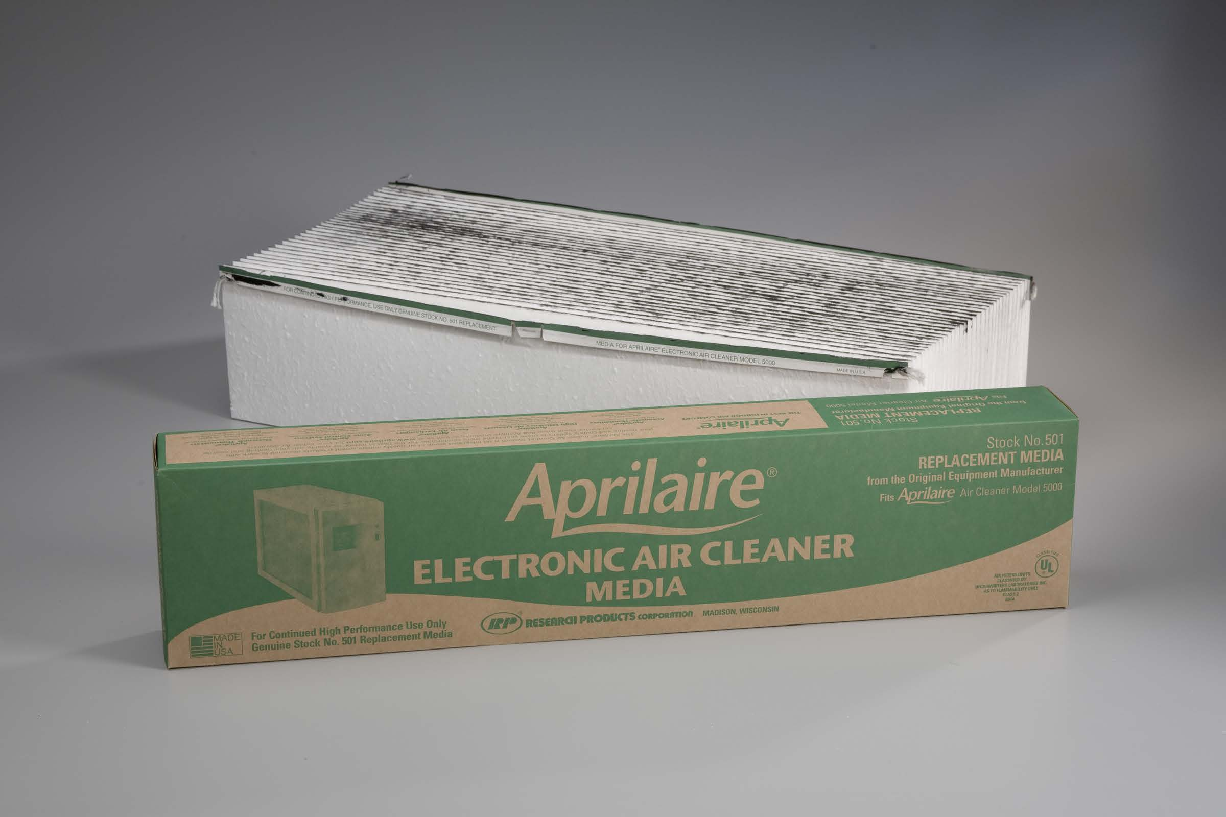 Aprilaire High Efficiency Media Air Filter for the Aprilaire Model 5000 Air Cleaner.