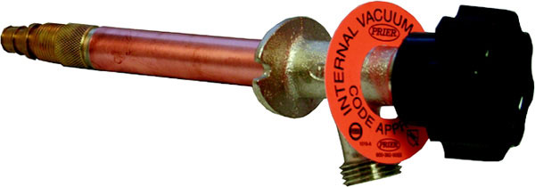 "1/2"" MPT x 1/2"" SWT, 10"" Insertion, Internal Vacuum Breaker Freezeless Wall Hydrant"