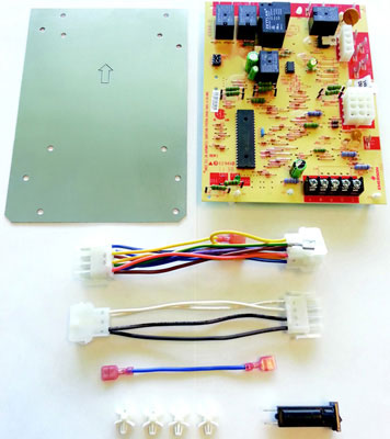 Single-Stage/HSI Integrated Furnace Control Kit, 25 VAC 50 / 60 Hz, 3 Fan Speeds
