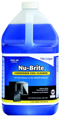 Nu-Brite Condenser Cleaner, 1 Gallon Bottle