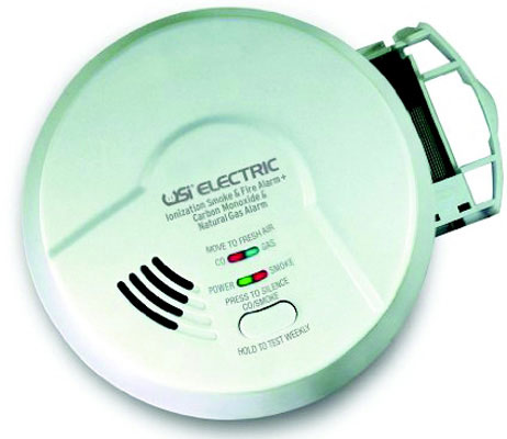 Smoke & Fire   Carbon Monoxide & Natural Gas Alarm