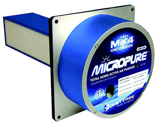 "Micropure 9"" Whole Home Active Air Purifier, 115/230 Volts"
