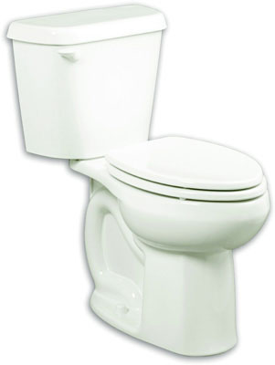"Colony HET Right Height Elongated 12"" Rough-In 1.28 gpf Toilet, Bowl, Bone"