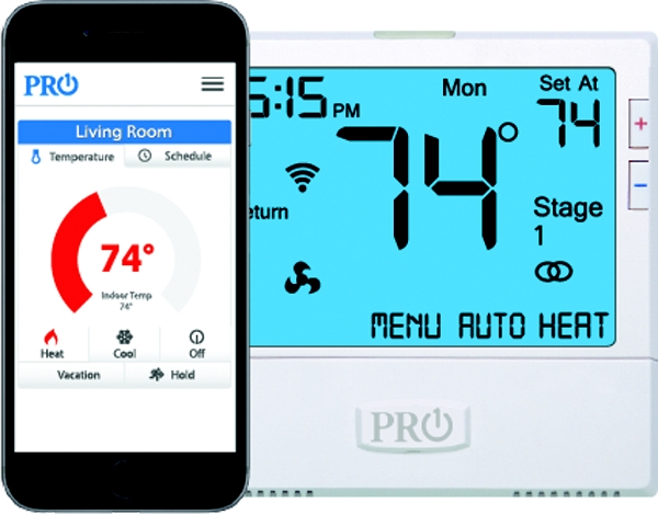 T855i WIFI Thermostat 7 Day or 5/1/1 Programmable