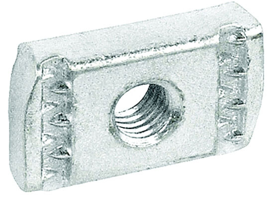 "1/2"" Electro-Galvanized Grip Locknut Without Spring"