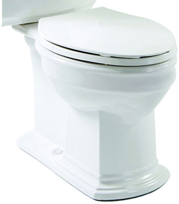 Elongated Front, SmartHeight Toilet Bowl, Biscuit Color, 1.6 gpf / 6.0 lpf Water Usage