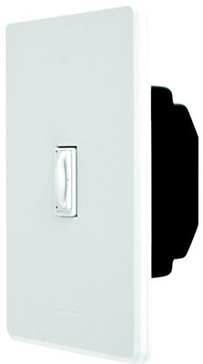 600W Single-Pole Faedra Duo Dimmer Switch, White
