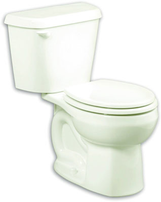 "Colony Round Front 12"" Rough- In 1.6 gpf Toilet, Bowl, Bone"
