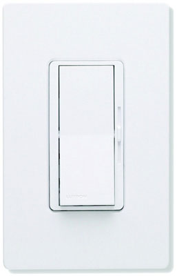 White 1 Pole/3-Way, 600W