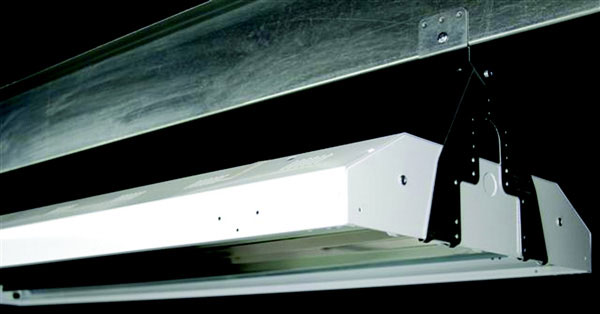 Products | High-Bay Fluorescent Fixture Brackets For Purlins or Any