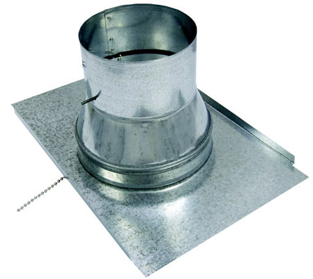 Products 6 X 8 Round Ceiling Diffuser Box With Flange