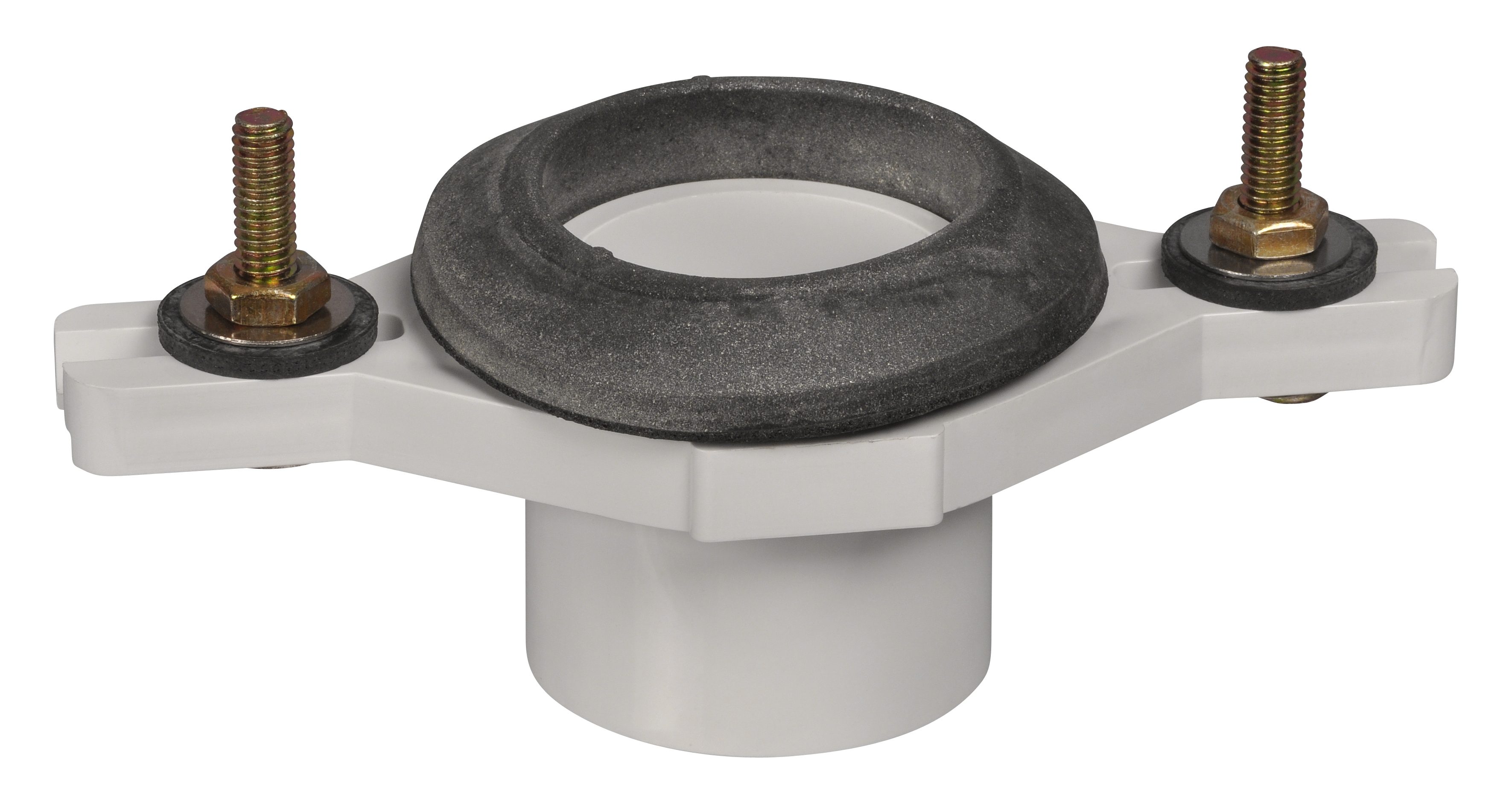 AB&A Adjustable Urinal Flange Kit, Spigot - PVC 2