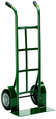 "51"" Flat-Free Thousand Pound Capacity Dual Handle Hand Truck, 10"" Wheel Size"