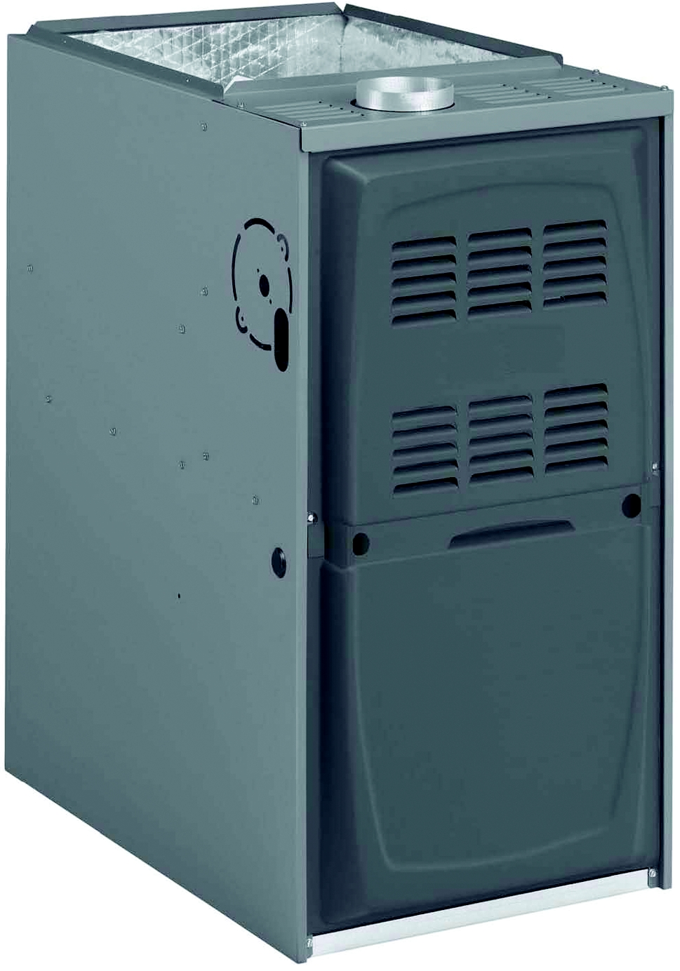 2-Stage Variable Speed Downflow Gas Furnace, 120/60/1 Voltage, Input/Output 110,000/87,000 Btuh, Cooling Capacity 5 Ton