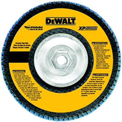 "4-1/2"" x 5/8-11"" XP Flap Disc, 50 Grit, 13300 RPM"
