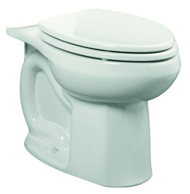 "Colony HET Elongated 10"" Rough- In 1.28 gpf Toilet Bowl, White"
