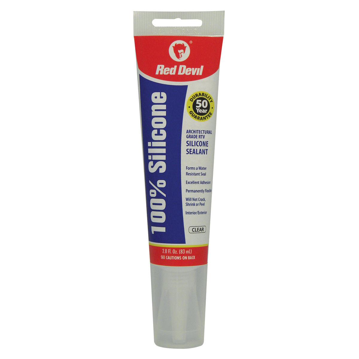 100% Silicone Sealant, Clear