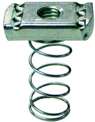 "1/2"" Electro-Galvanized Grip Locknut with Regular Spring"