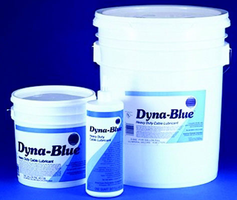 1 Gallon Opaque Dyna-Blue Heavy Duty Cable Lubricant