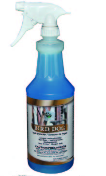 Bird Dog Super Sensitive Leak Detector, Water-Based Blue Liquid