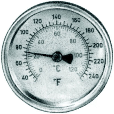 "1/2"" MPT Thermometer"