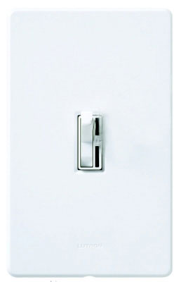 Single Pole/3-Way Dimmer On /off Toggle Switch, Light Almond