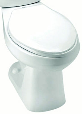 Elongated Front, SmartHeight Pressure-Assist Bowl, 1.6 gpf / 6.0 lpf Water Usage, White Color