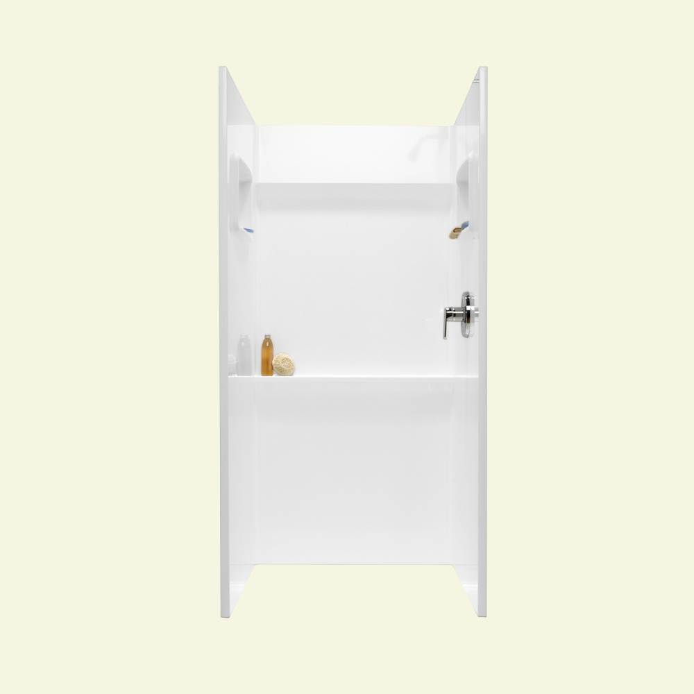 "Veritek 36"" x 32"" x 76"" Shower Alcove in White"