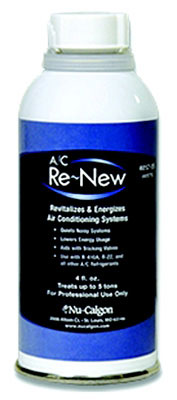 A/C Re-New 4 Fluid Ounce Unpressurized Can