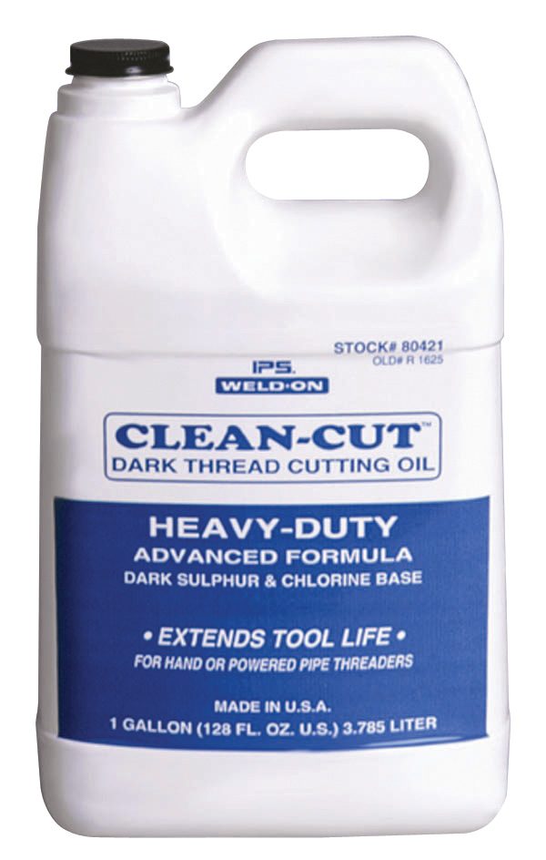 Weld-On Dark Cutting Oil, QT Poly Bottle