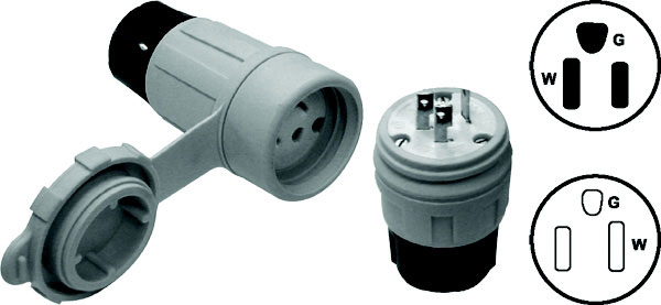 Water-Tite Plug and Connector