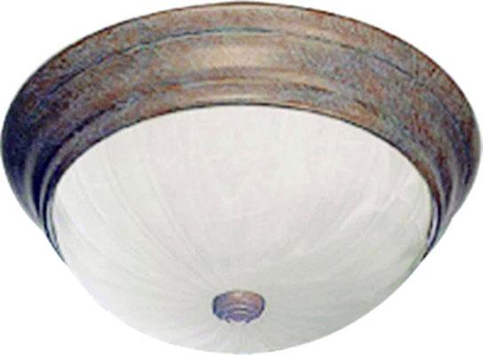 Products lighting 1 medium base 100w flush mount ceiling fixture antique bronze 5 14 h x 11 w aloadofball Gallery