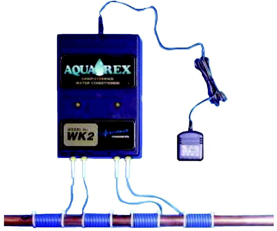 Aqua-Rex WK-2 Physical Water Conditioner, Aerial Length - 6.6, Minimum Aerial Turns - 12 Turns